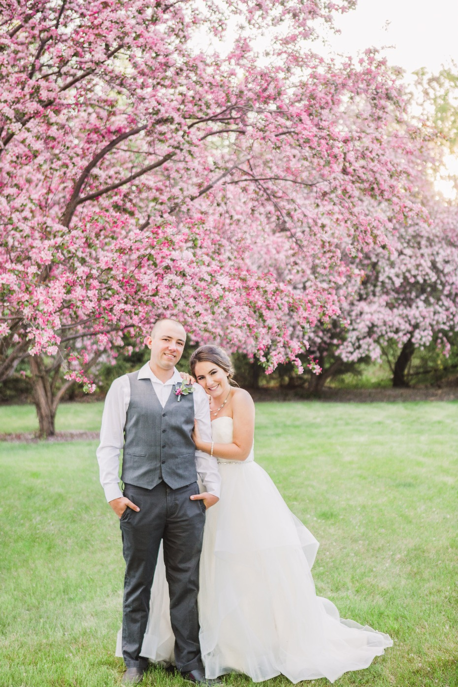Vintage cherry blossom wedding inspiration