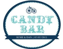 candy bar label