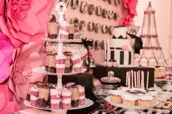 ddb0fa1e2f5 Gallery - Chanel you later! A Perfume Themed Bridal Shower in Hot Pink