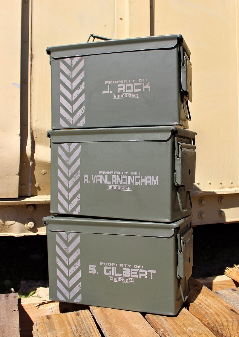 New, Real, USA Made, 50 cal Ammo Cans by ScissorMill.com