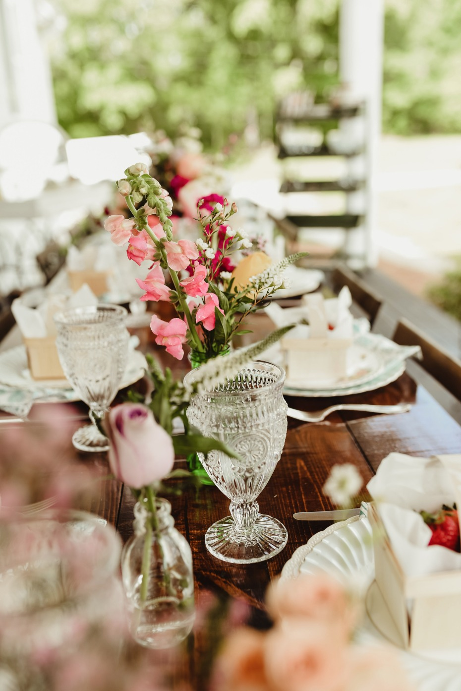 farm fresh bridal brunch