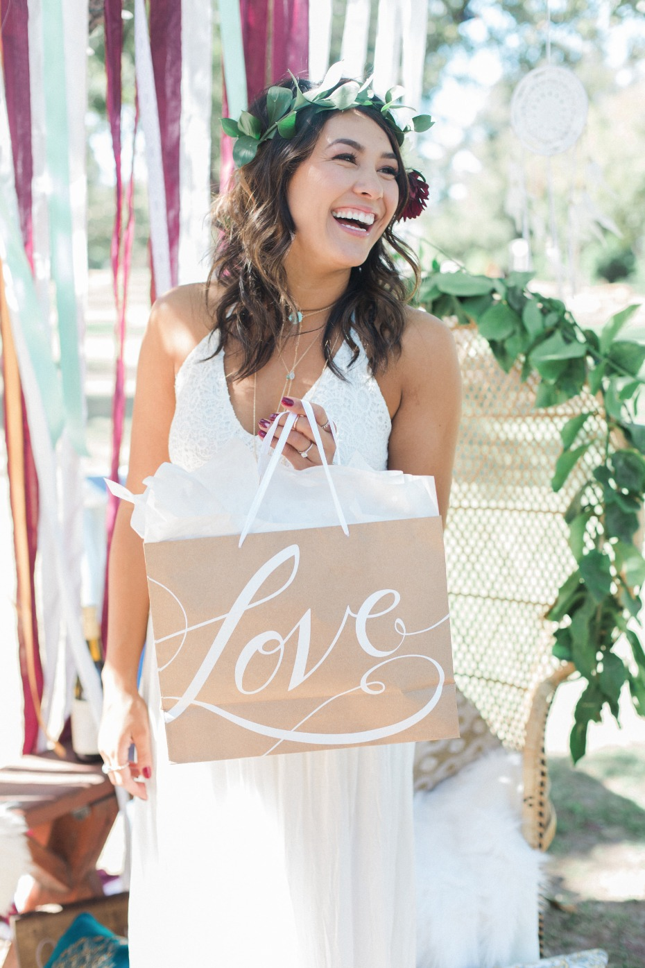 Love this boho bridal shower