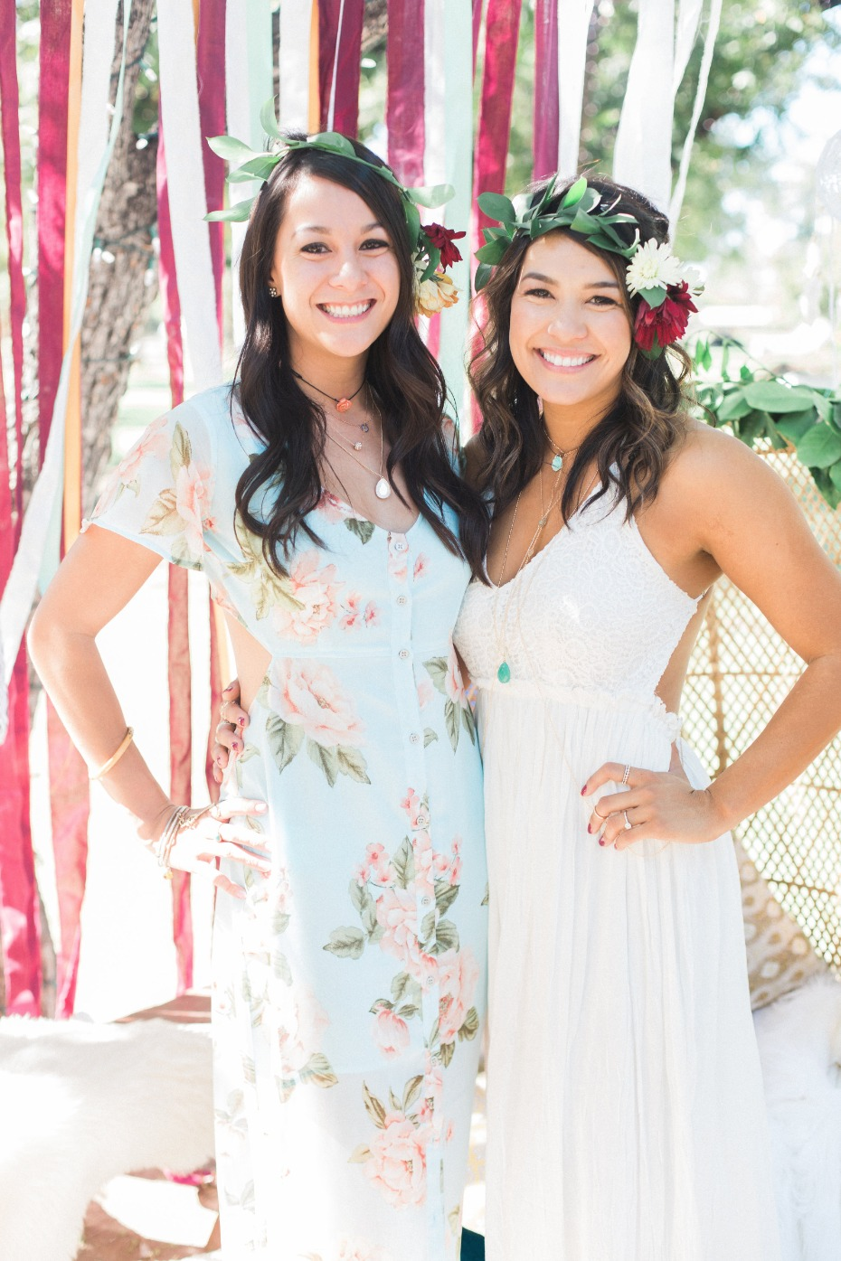 Beautiful boho bridal shower