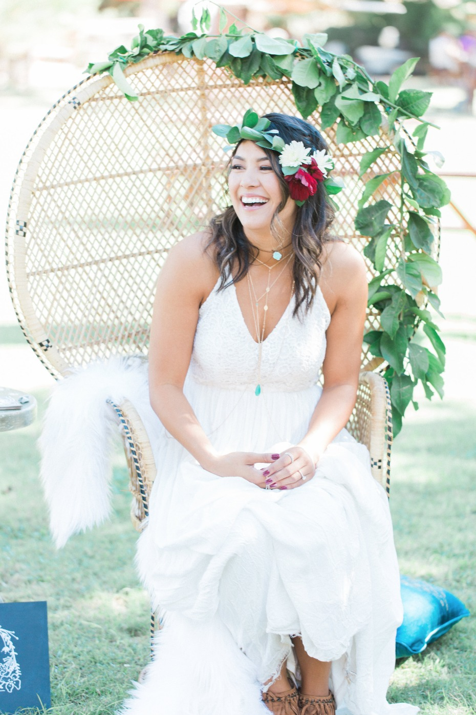 Adorable bohemian bridal shower