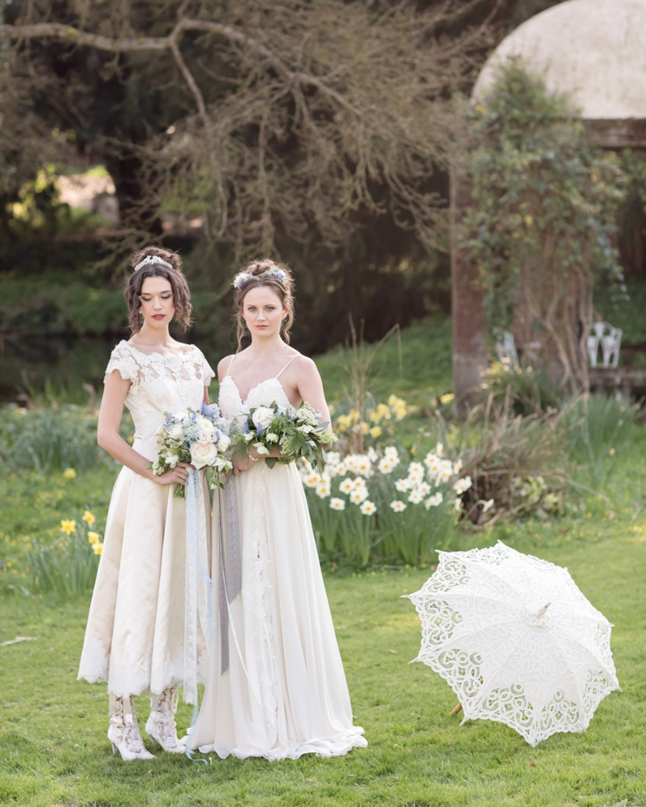 Sense and Sensibility inspired bridal fashion