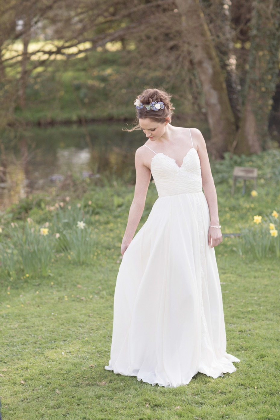 Elegant gown inspired by Sense and Sensibility
