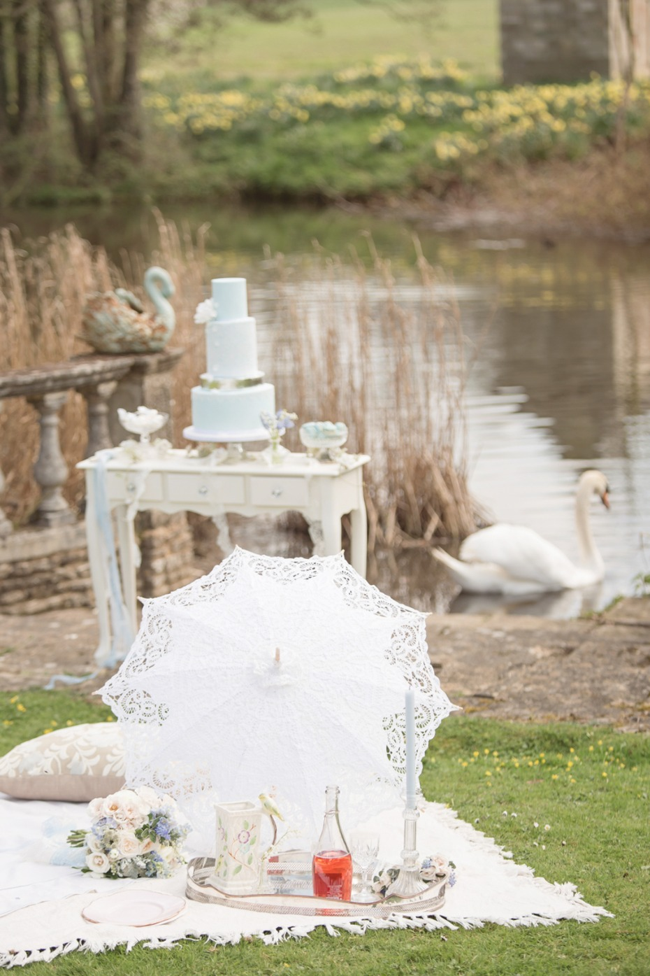 Sense and Sensibility inspired wedding decor