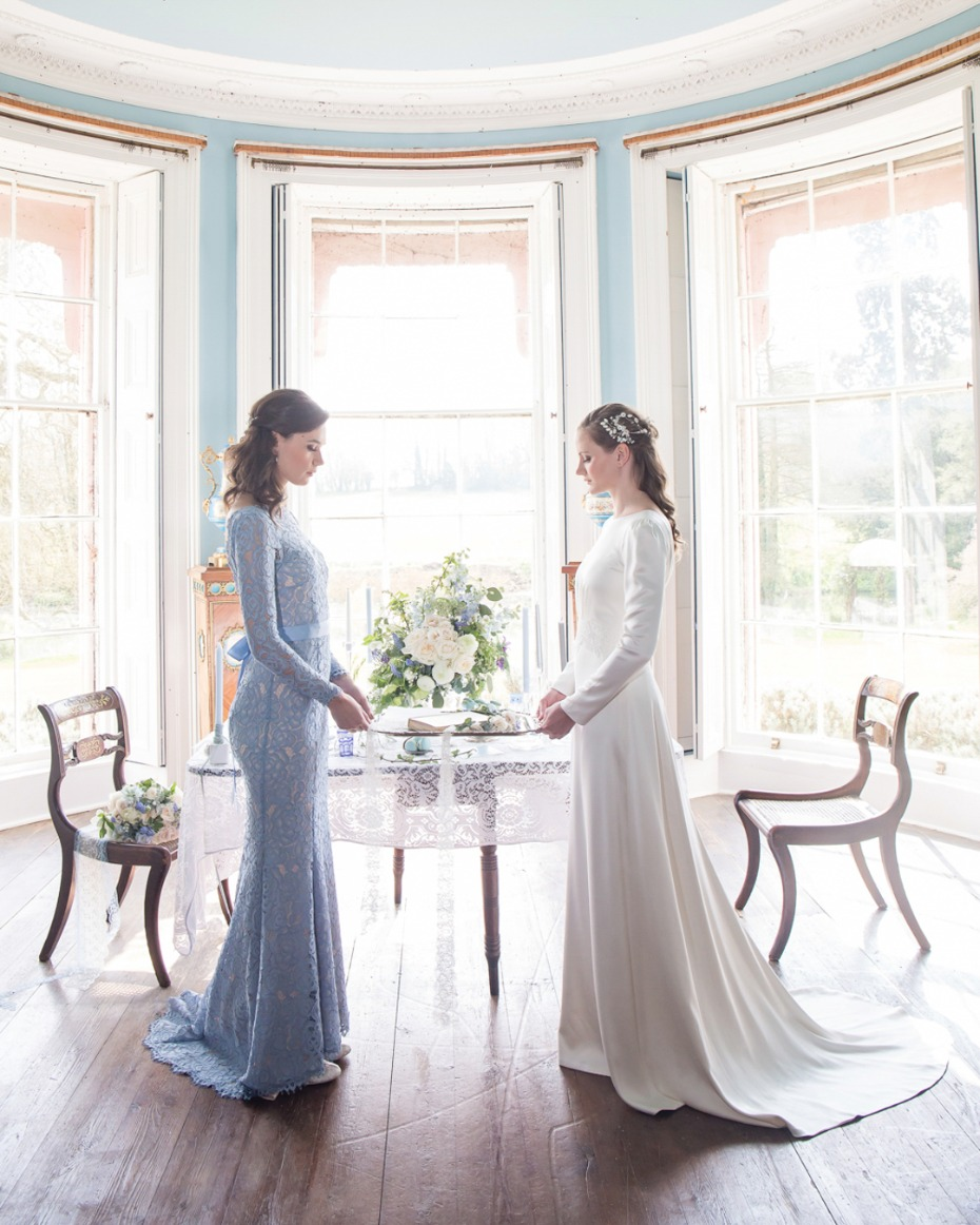 Sense and Sensibility inspired bridal looks