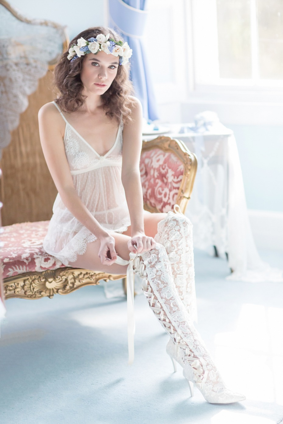 Boudoir session inspired by Sense and Sensibility