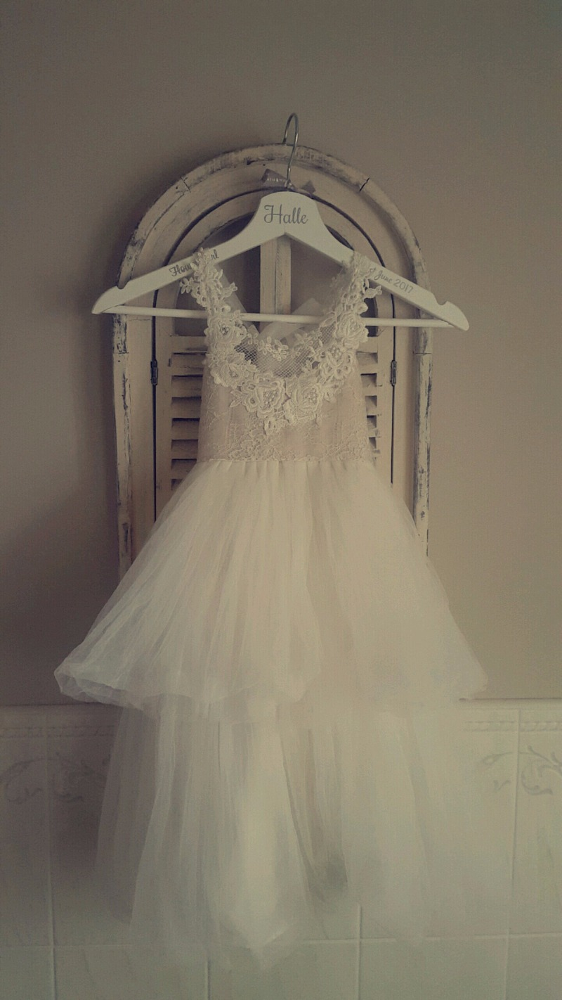 One of our most adorable dresses for a flower girl!