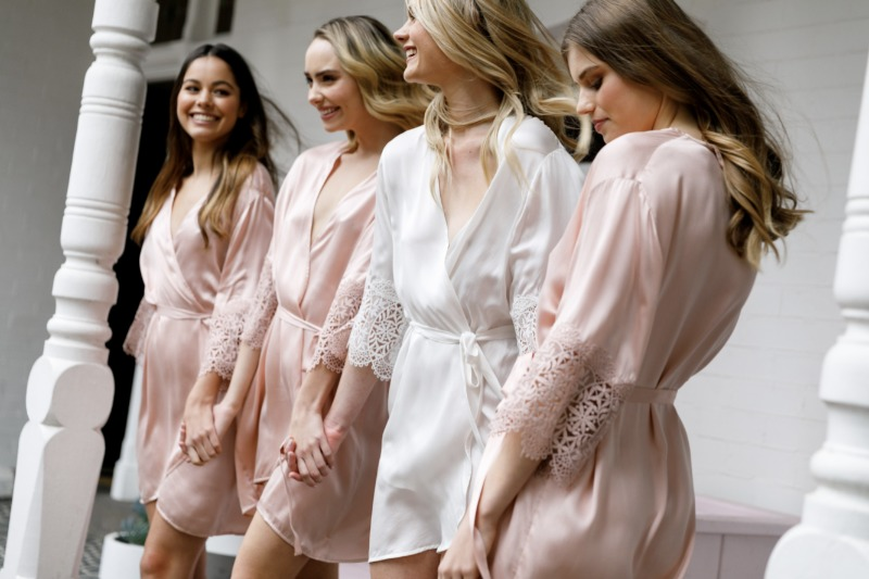 Gift your Bridesmaids with the stunning Mia Robe