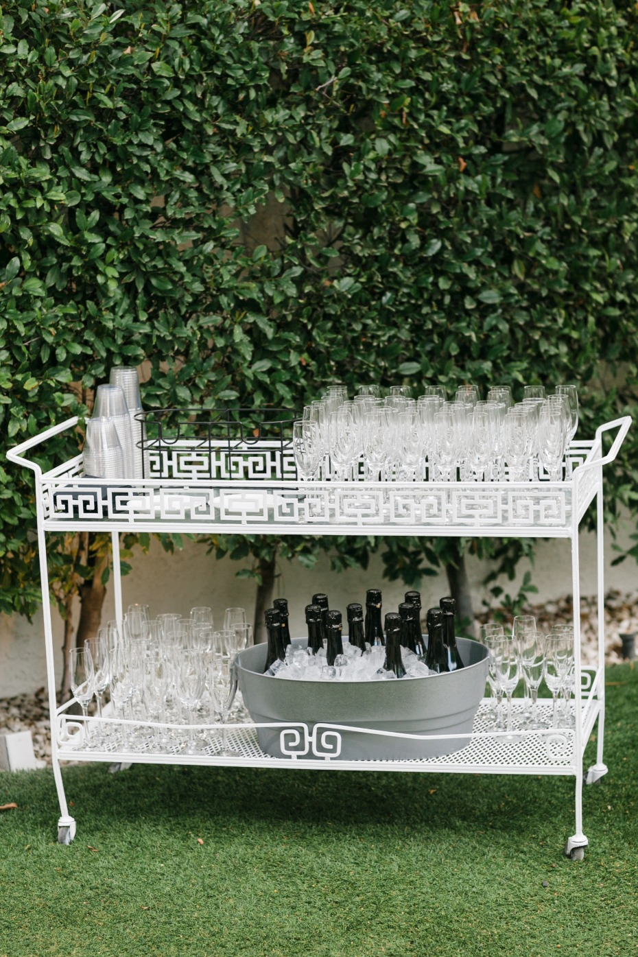Ceremony drink station