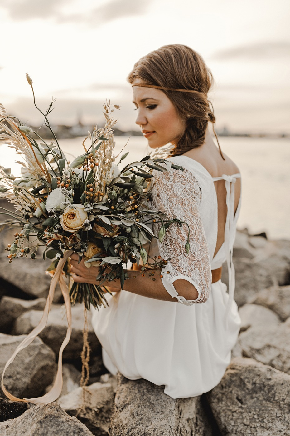 Beach elopement ideas.