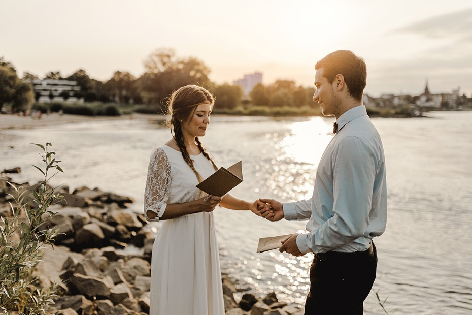 Who will officiate your elopement?