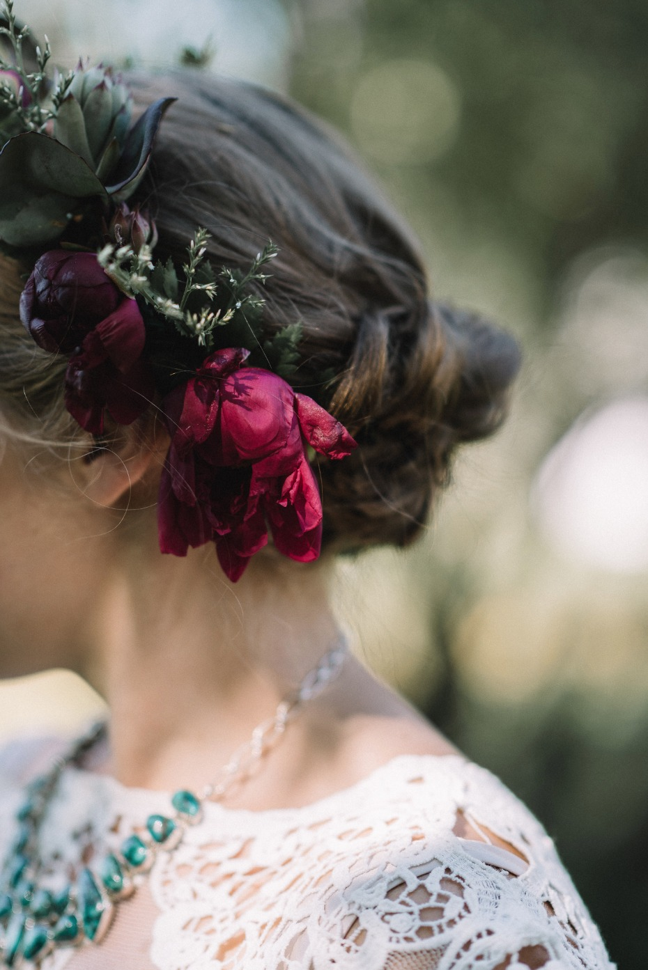 flower halo for your wedding day