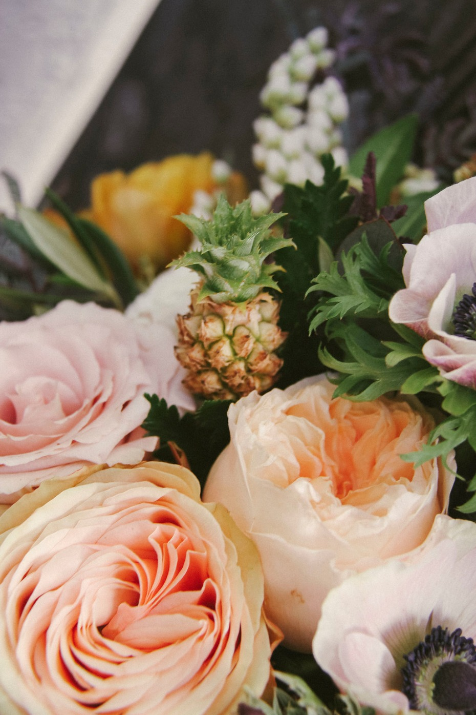 The tiniest pineapple for your bouquet!