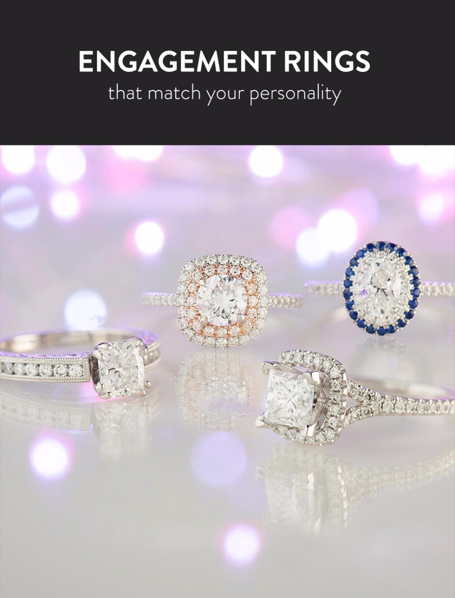 how to select an engagement ring based on your personality