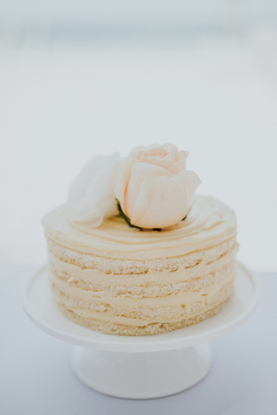Wedding cake for two