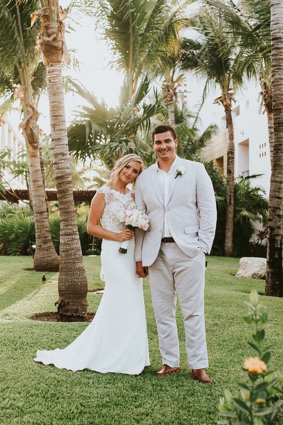 Beautiful beach elopement in Mexico