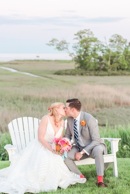 A Nautical Wedding That will Leave You In Love With Stripes!