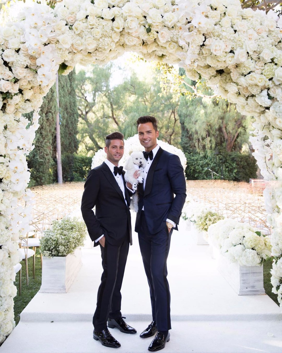 Josh Flagg makes everyone emotional with his wedding vows to partner Bobby Boyd