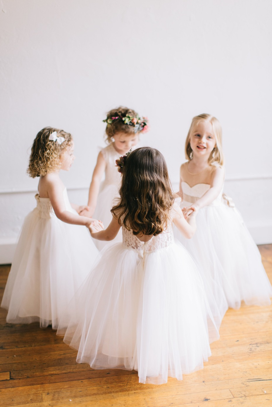 Fattie Pie Flower Girls