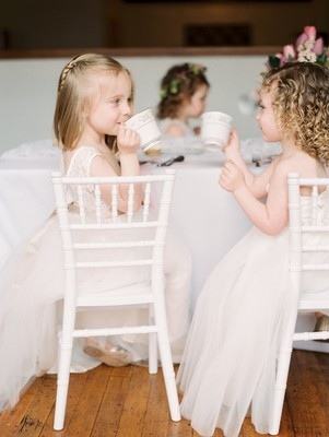 Fattie Pie Flower Girl Tea Party! You Need To See This!