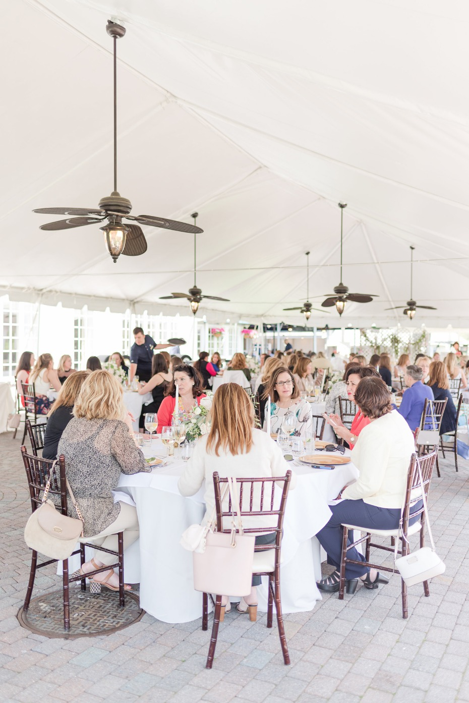 Country club bridal shower