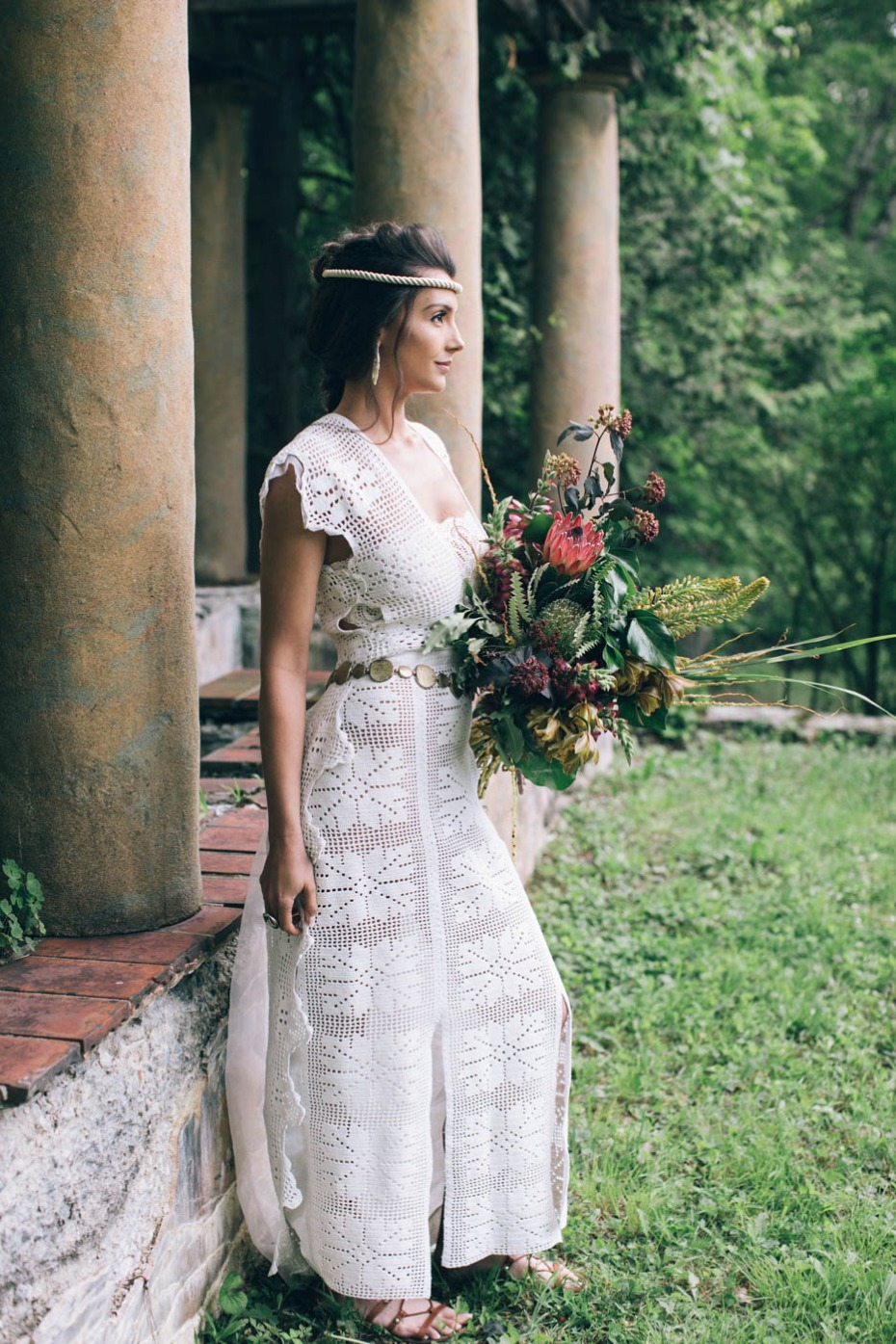 greco-roman wedding inspiration