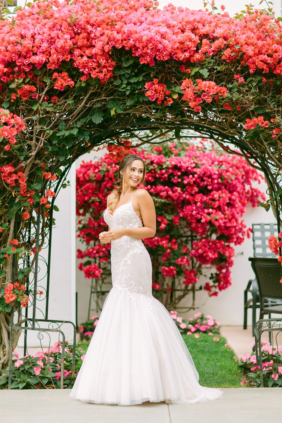 bridal look for your spring wedding