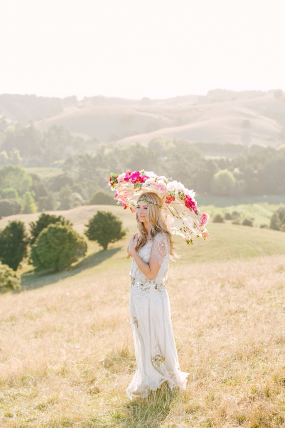 7 ways to use parasols in your wedding