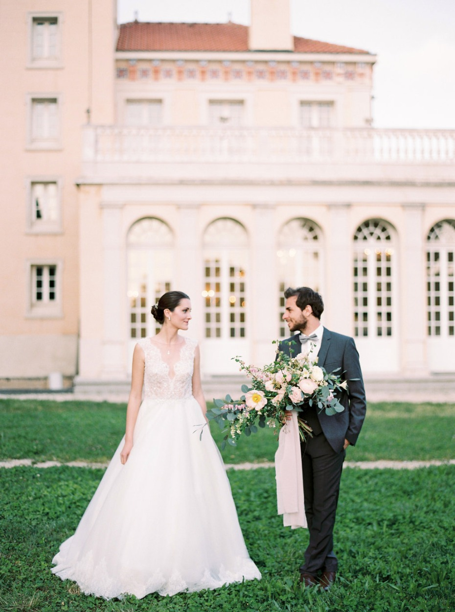 Dreamy French Riviera wedding inspiration at Chateau Saint-Georges