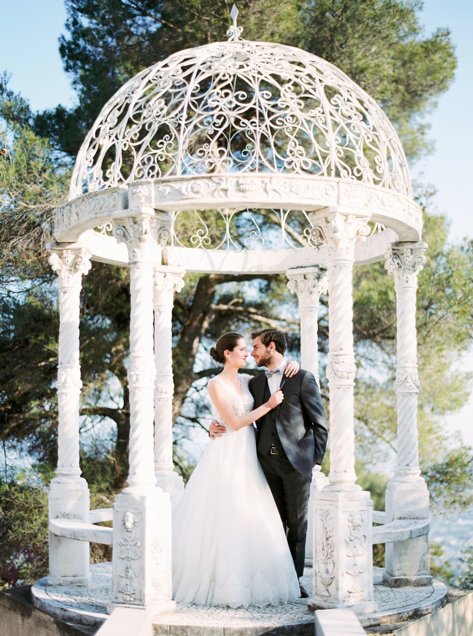 Beautiful and refined wedding inspiration in the French Riviera