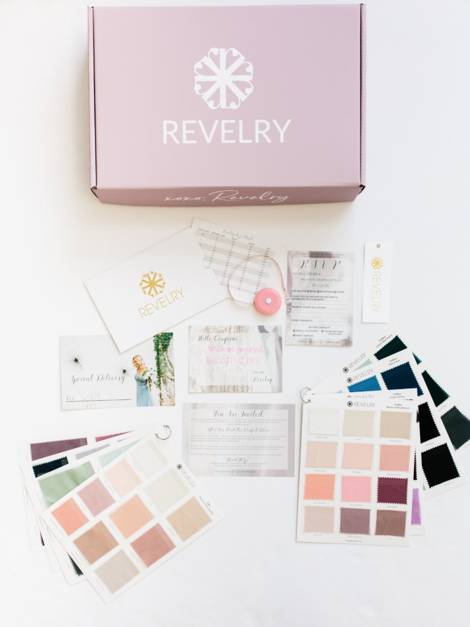 What your Revelry sample box looks like
