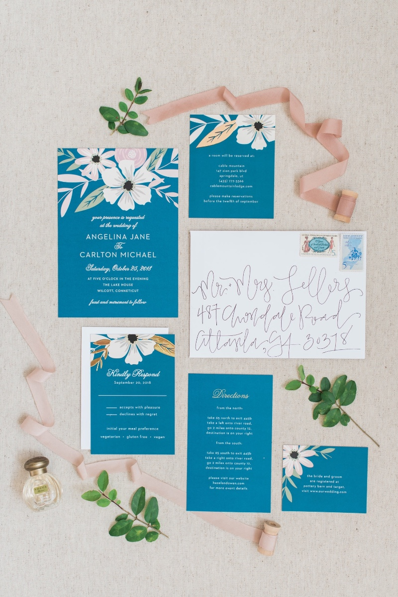 Wedding invites made for a beautiful bride!