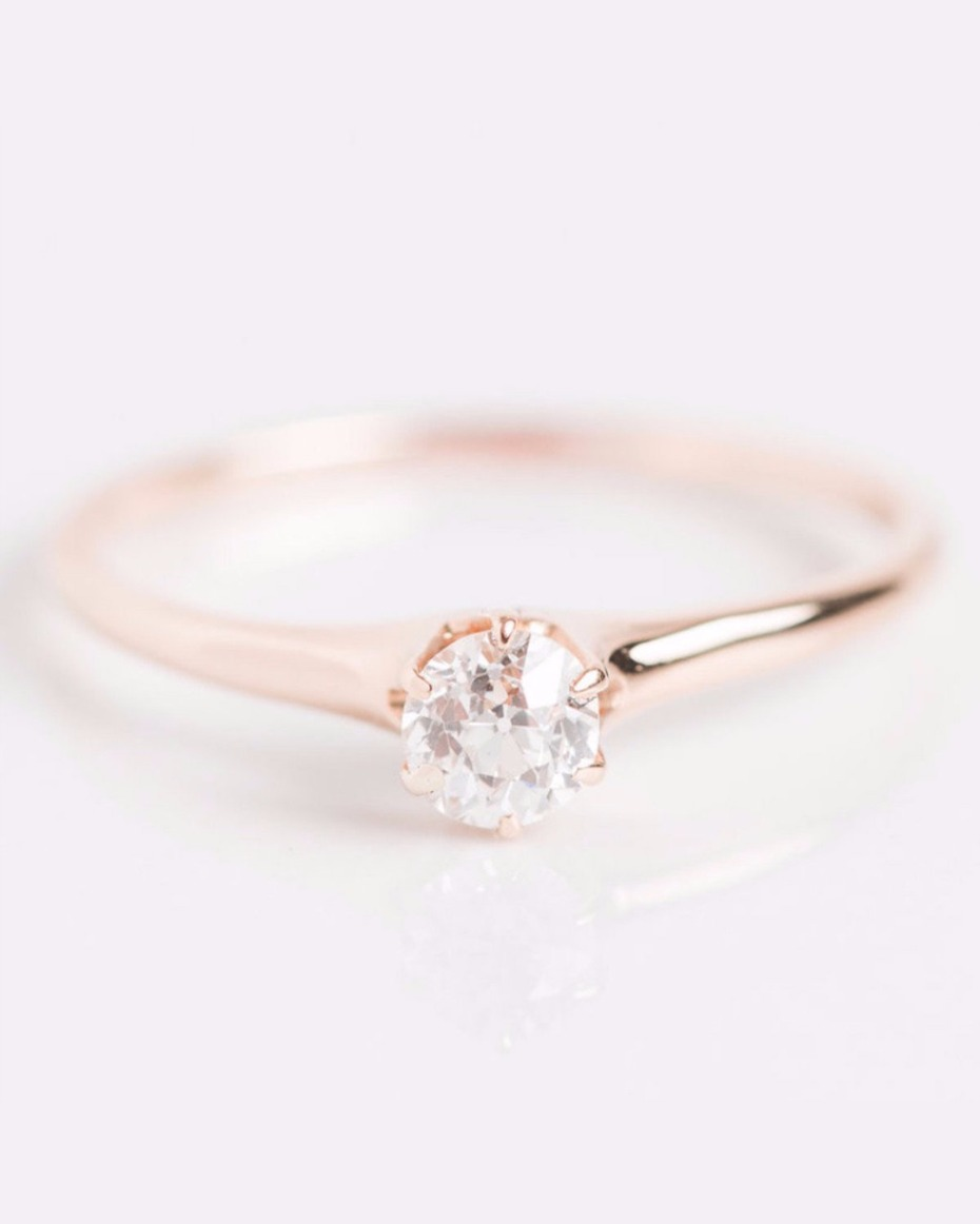 Tiny engagement rings are kind of having a big moment for Tiny wedding ring