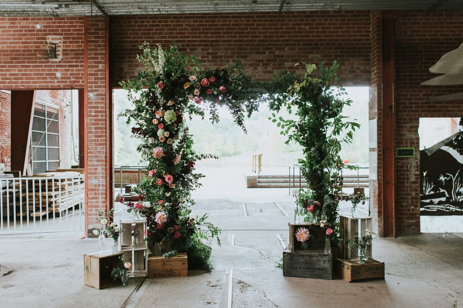 floral arch for your wedding day