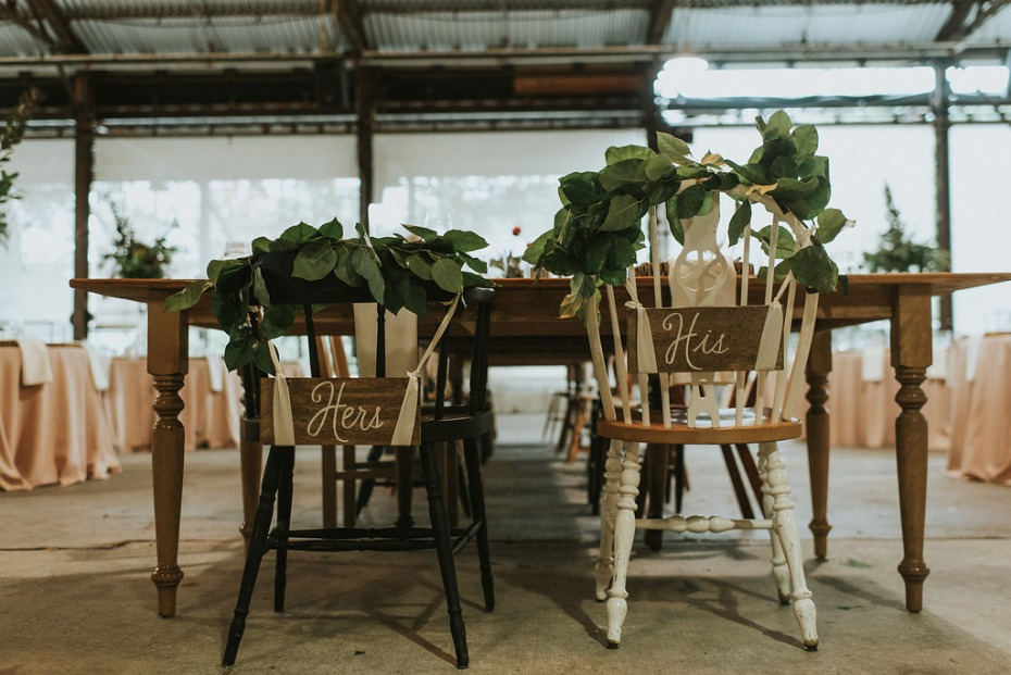 farm chairs for him and her