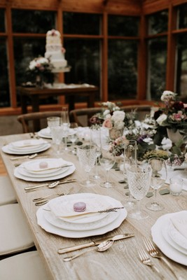 Charming Woodsy Wedding Inspiration with Vintage Details