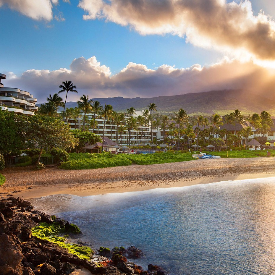 Sheraton Maui at sunrise