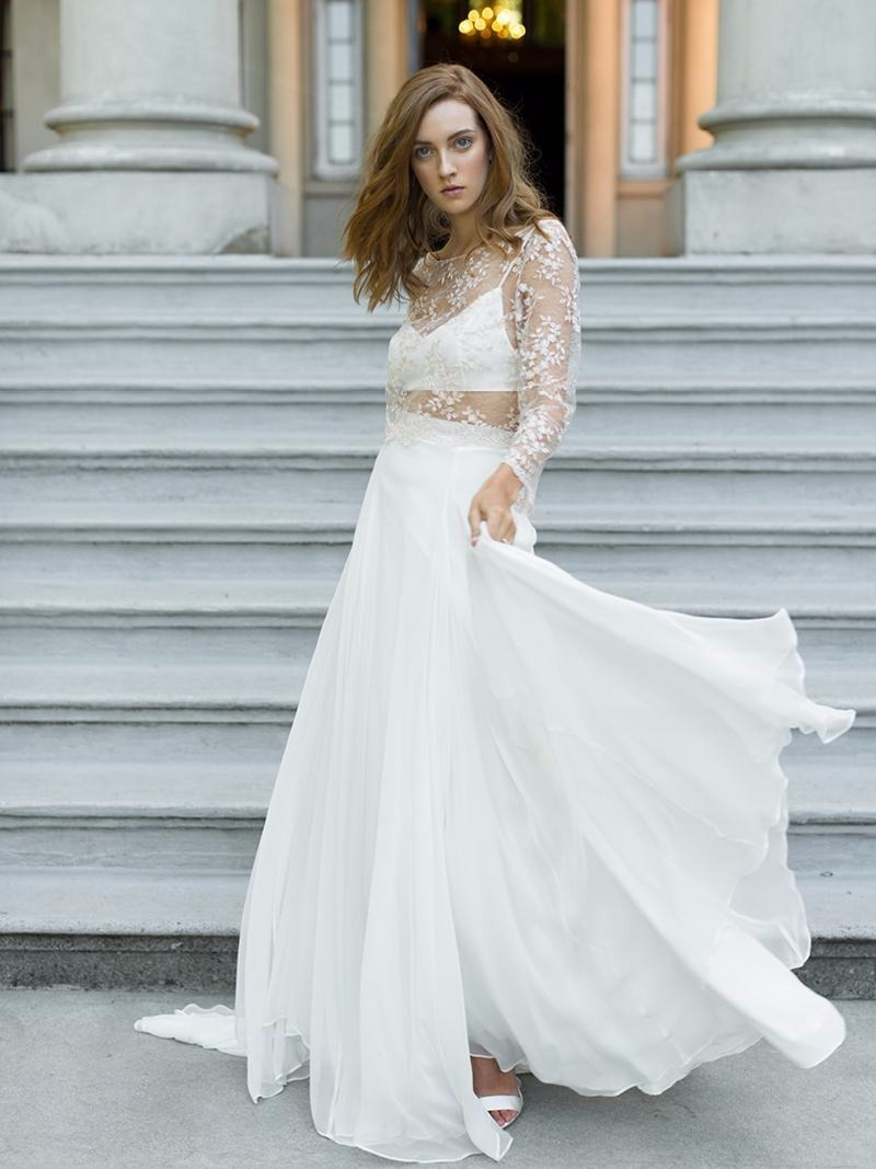 The bridal skirt dreams are made of.