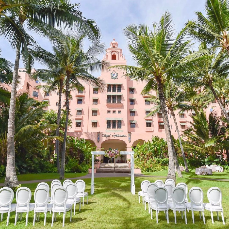 Get married at The Royal Hawaiian Wedding
