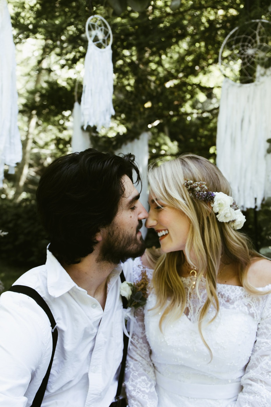 Romantic, vintage boho wedding ideas