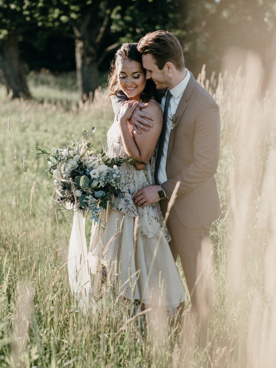 romantic outdoor wedding inspiration