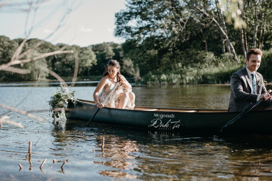 Canoe ride for two