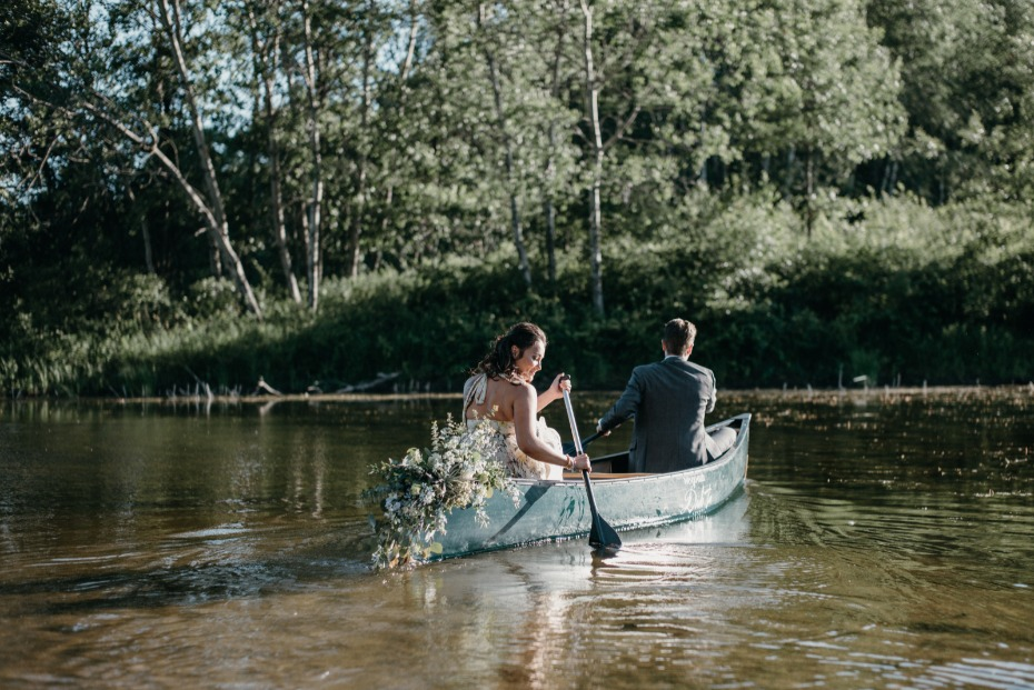 Wedding ideas for the outdoorsy couple