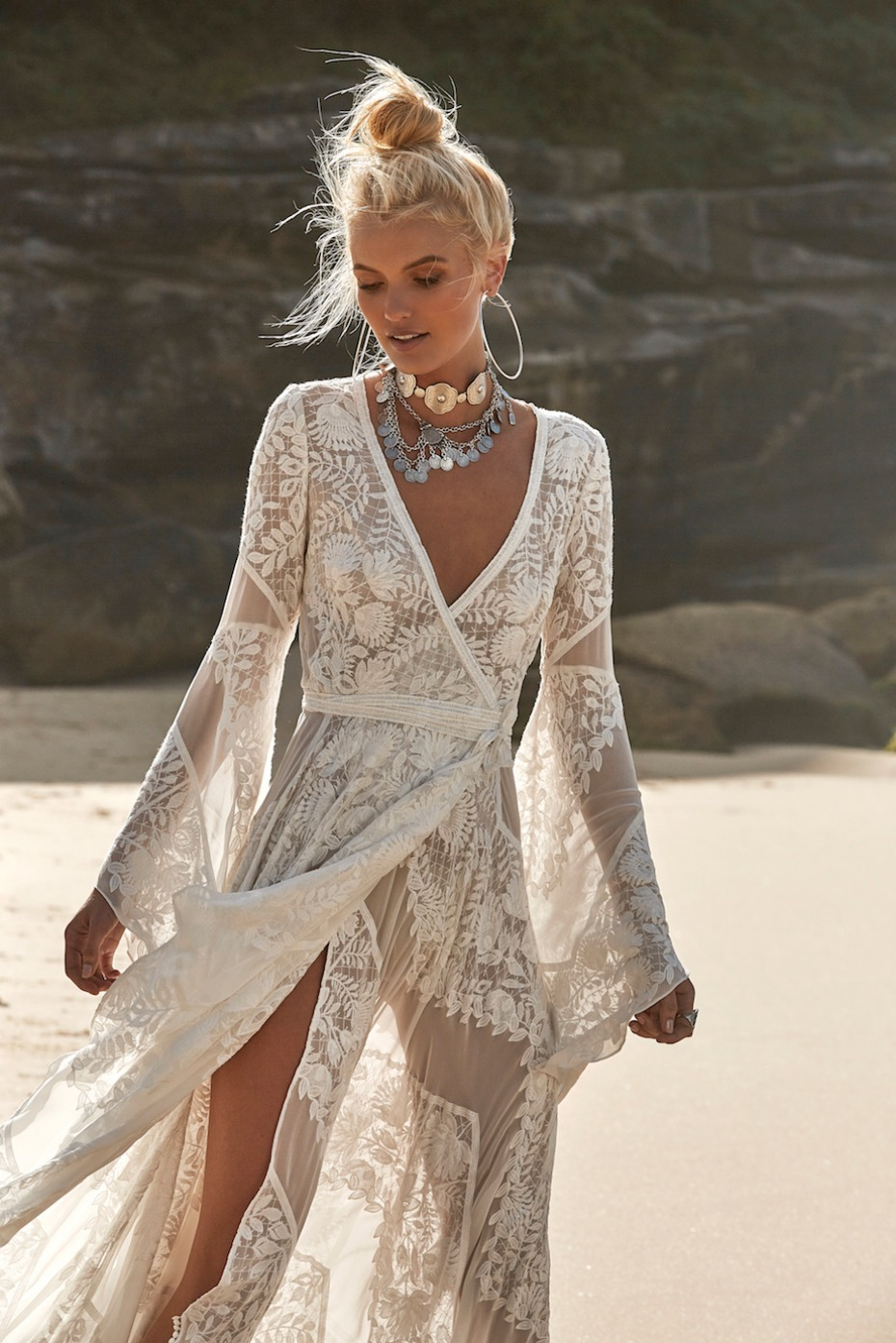 harlow wedding dress from The Dress Theory