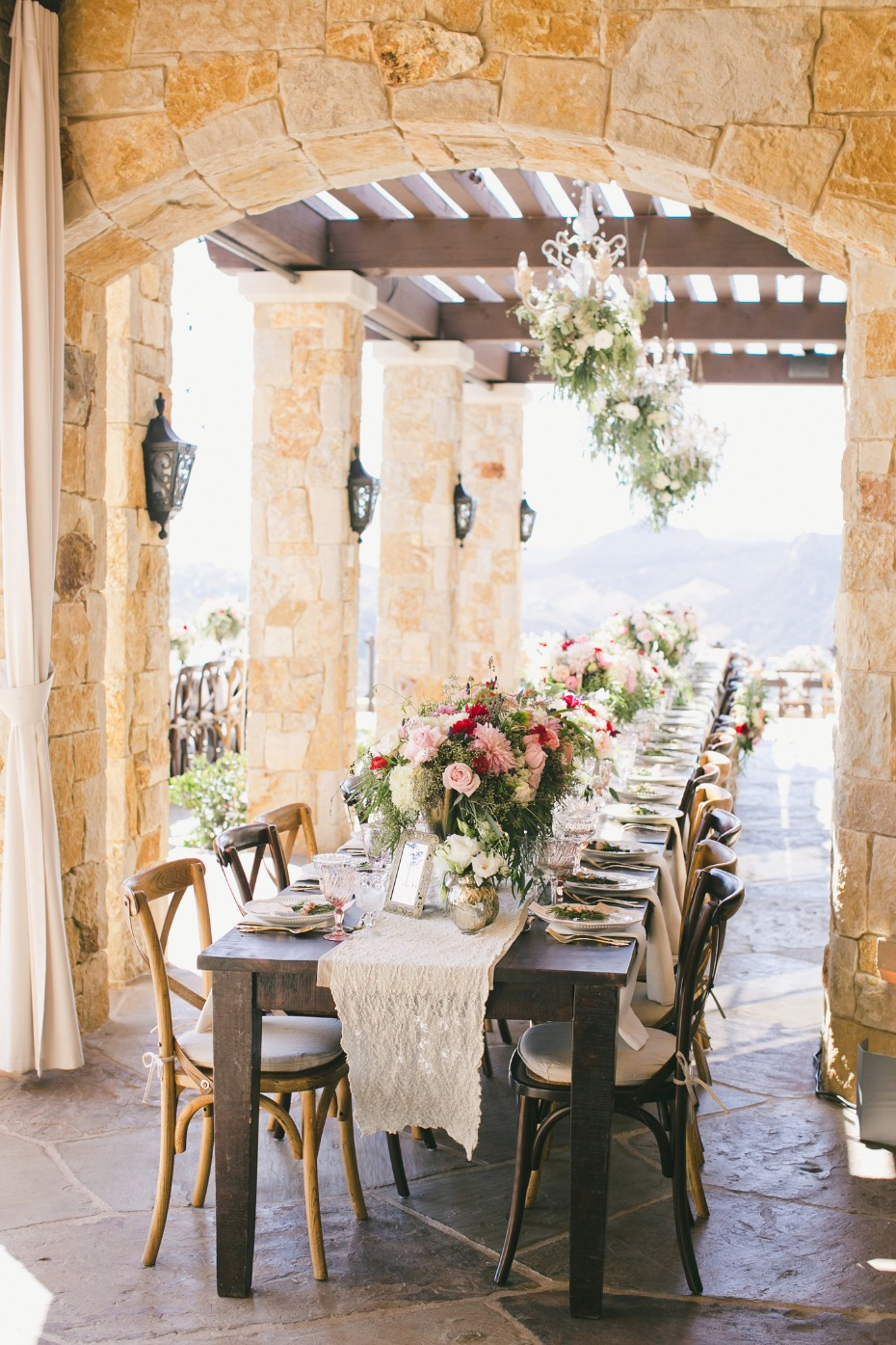 Dreamy tablescape captured by Onelove Photography