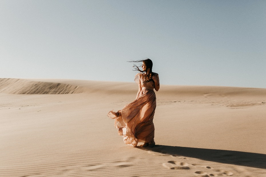 A desert Bride-to-be
