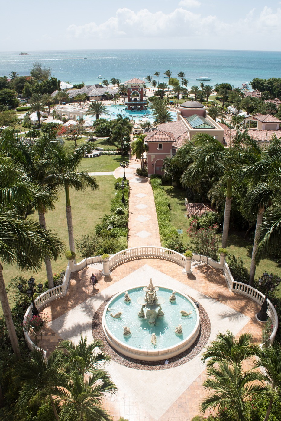 Get married at the Sandals Grande Antigua in the Caribbean